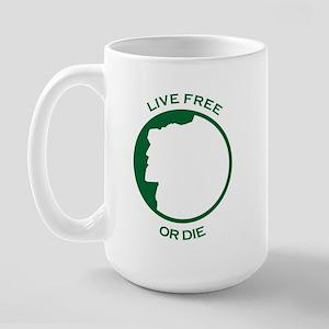 Live Free Large Mug