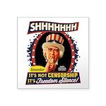 Freedom Silence Sticker