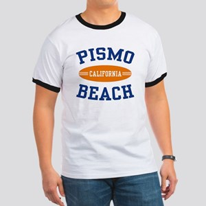 Pismo Beach California Ringer T