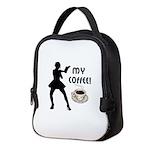 My Coffee Neoprene Lunch Bag