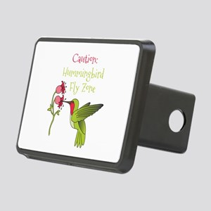 Caution: Hummingbird Fly Zone Hitch Cover
