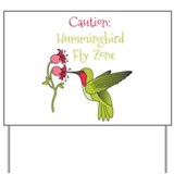 Hummingbird Yard Signs