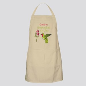 Caution: Hummingbird Fly Zone Apron