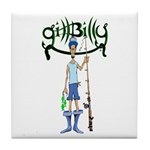 Gill Billy Tile Coaster