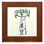 Gill Billy Framed Tile