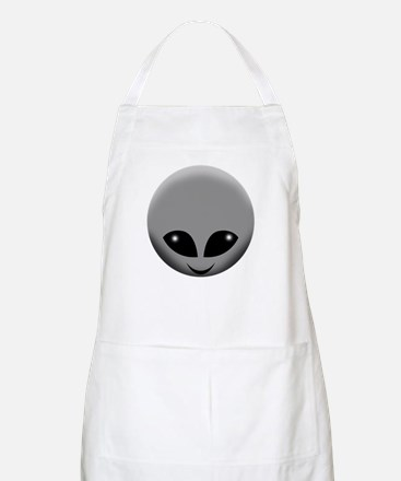 alien head Apron
