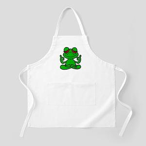 Frog Lotus Apron