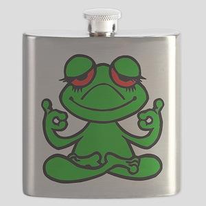 Frog Lotus Flask