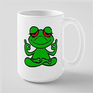 Frog Lotus Mugs