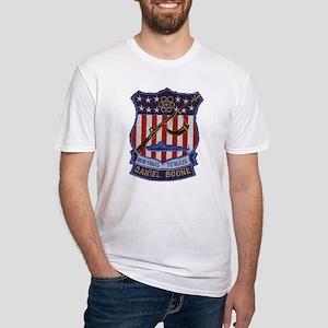 Daniel Boone SSBN 629 Fitted T-Shirt