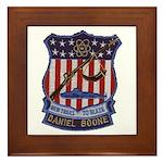 Daniel Boone SSBN 629 Framed Tile
