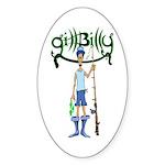 Gill Billy Oval Sticker