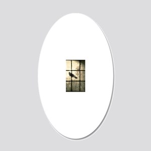 The Window 20x12 Oval Wall Decal