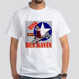 Miss Bea Havin White T-Shirt