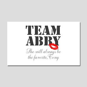 Team Abby Car Magnet 20 x 12