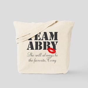 Team Abby Tote Bag