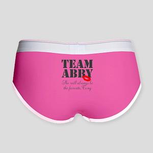Team Abby Women's Boy Brief