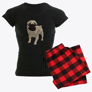 Pug Women's Dark Pajamas