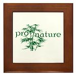 Pro Nature Graphic Framed Tile