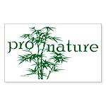 Pro Nature Graphic Rectangle Sticker