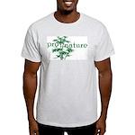 Pro Nature Graphic Ash Grey T-Shirt