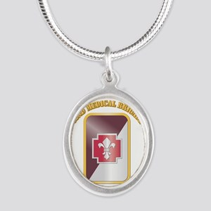 SSI - 62nd Medical Brigade with text Silver Oval N
