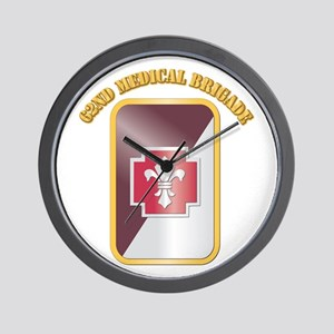 SSI - 62nd Medical Brigade with text Wall Clock