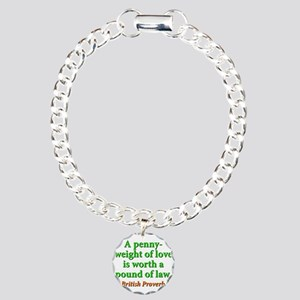 A Penny-Weight Of Love Charm Bracelet, One Charm
