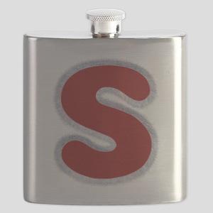 S Santa Fur Flask