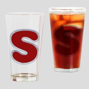 S Santa Fur Drinking Glass