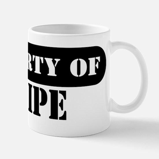Property of Felipe Mug