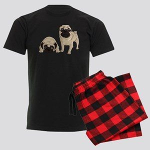 Pugs Men's Dark Pajamas