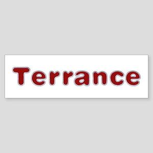 Terrance Santa Fur Bumper Sticker