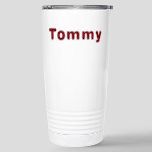 Tommy Santa Fur Stainless Steel Travel Mug