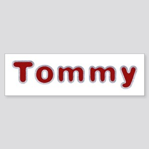 Tommy Santa Fur Bumper Sticker