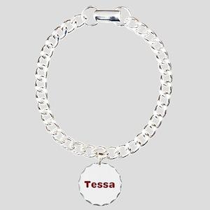 Tessa Santa Fur Charm Bracelet