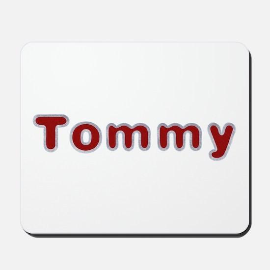Tommy Santa Fur Mousepad