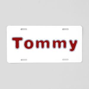 Tommy Santa Fur Aluminum License Plate