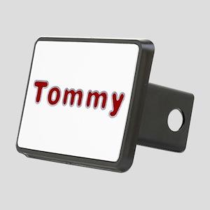Tommy Santa Fur Rectangular Hitch Cover