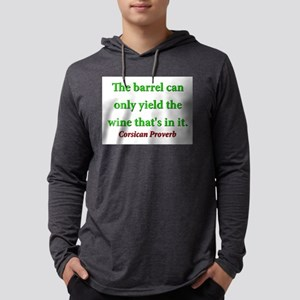 The Barrel Can Only Yield Mens Hooded Shirt