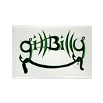 Gill Billy Rectangle Magnet (100 pack)