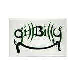 Gill Billy Rectangle Magnet