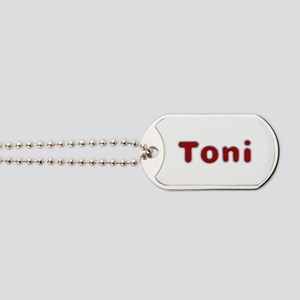 Toni Santa Fur Dog Tags