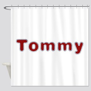 Tommy Santa Fur Shower Curtain