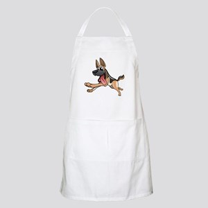 Cartoon German Shepherd Apron