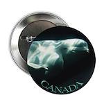 Canada Souvenir Beluga Whale Buttons 10 pack