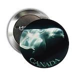 Canada Souvenir Beluga Whale Button