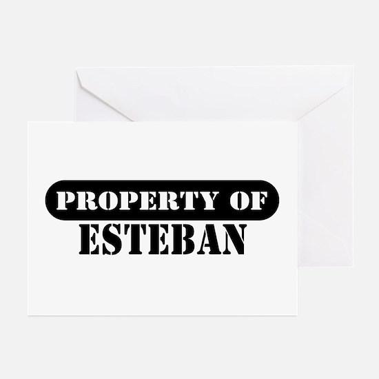 Property of Esteban Greeting Cards (Pk of 10)