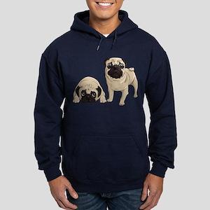 Pugs Hoodie (dark)