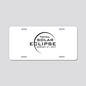 Total Solar Eclipse 2017 Aluminum License Plate